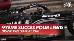 97ème succès de Lewis Hamilton : Grand Prix du Portugal