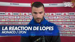 """Anthony Lopes : """"Trop jouer avec le coeur parfois ça fait faire des bêtises"""" : Monaco / Lyon"""