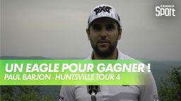 Immense victoire en playoff de Paul Barjon : Huntsville Championship Tour 4