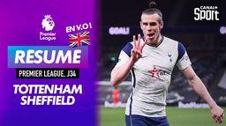 Le résumé de Tottenham / Sheffield en VO - Premier League J34 : Premier League