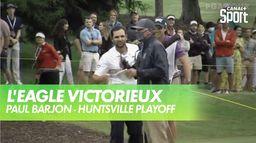 L'eagle victorieux de Paul Barjon : Huntsville Championship - Playoff