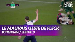 Le très mauvais geste de John Fleck qui essuie ses crampons sur Lo Celso : Premier League