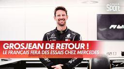 Romain Grosjean fera des essais pour Mercedes au GP de France : Saison 2021