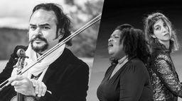 Concert d'Alexis Cardenas, Marie-Laure Garnier et Celia Oneto Bensaid