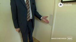 Nistoire : la poignée de porte invisible