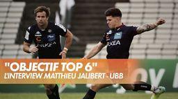 L'interview de Matthieu Jalibert - UBB - Top 14