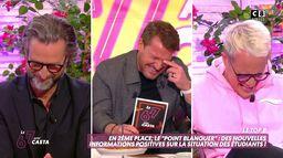 L'énorme fou rire de Benjamin Castaldi, Guillaume Genton et Nicolas Pernikoff !