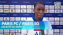 Les buts du derby Paris FC / Paris SG : D1 Arkema