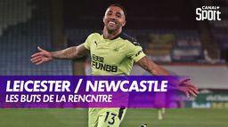 Les buts de Leicester / Newcastle : Premier League, 35ème journée