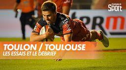 Les essais et le débrief de Toulon / Toulouse : TOP 14