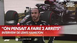 """Hamilton : """"Je savais que je lutterais avec Verstappen"""" : Grand Prix d'Espagne"""