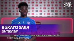 Bukayo Saka : l'interview : Premier League