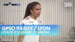 Les buts et le débrief de GPSO 92 Issy / Lyon : D1 Arkema