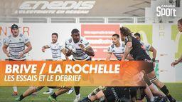 Les essais et le débrief de Brive / La Rochelle : TOP 14
