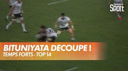 Bituniyata découpe un rochelais ! Quel tampon ! : TOP 14