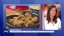 Votre assiette : Le pigeon, une volaille originale et savoureuse !
