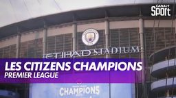 Les Citizens Champions : Premier League