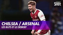 Le but et le débrief de Chelsea / Arsenal