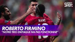 Roberto Firmino (Liverpool) se confie