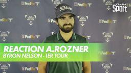 Réaction Antoine Rozner : Byron Nelson  - 1er Tour