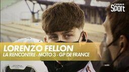 Lorenzo Fellon, jeune espoir français de Moto 3 se confie à notre micro : Grand Prix de France