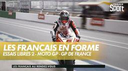 Les Français sont en forme lors de la deuxième séance d'essais libres : Grand prix de France