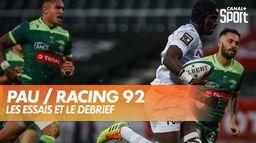 Les essais et le débrief de Pau / Racing 92 : TOP 14