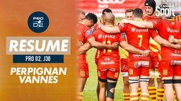 Le résumé de Perpignan / Vannes : PRO D2