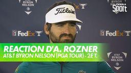 La réaction d'Antoine Rozner après le 2ème tour : AT&T Byron Nelson (PGA Tour)