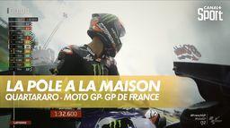 La pôle position pour Fabio Quartararo au Grand Prix de France ! : Moto GP