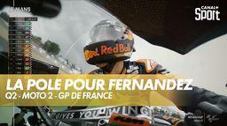 Raul Fernandez s'empare de la pole position : Shark Grand Prix de France