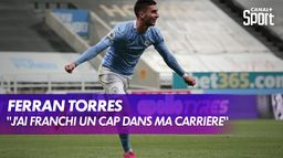 Ferran Torres (Manchester City) se confie