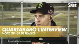 L'interview de Fabio Quartararo après sa pole position : Shark Grand Prix de France