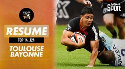 Le résumé de Toulouse / Bayonne : TOP 14