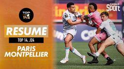 Le résumé de Stade Français / Montpellier : TOP 14