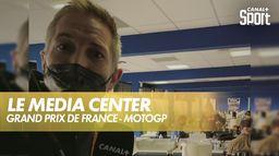 À la découverte du media center avec David Dumain : Shark Grand Prix de France