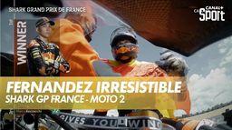 Raul Fernandez irrésistible au Mans : Shark Grand Prix de France - Moto 2