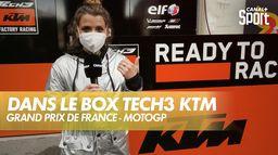 Dans le box de Tech3 KTM ! : Shark Grand Prix de France