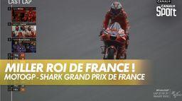 Jack Miller remporte sa deuxième victoire de la saison : SHARK Grand Prix de France
