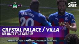 Les buts et le debrief de Crystal Palace / Aston Villa : Premier League
