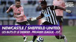 Le but et le débrief de Newcastle / Sheffield United