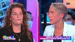"""""""Le système ne va plus depuis trop longtemps"""" : Bérénice, étudiante interpelle Elisabeth Borne"""