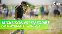 Les meilleurs coups de Phil Mickelson : PGA Championship 2021 - Kiawah Island - 2ème tour