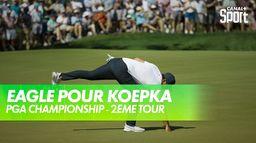 Quel putt de Koepka ! 2ème Eagle de la journée ! : PGA Championship 2021 - Kiawah Island - 2ème tour