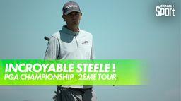 Incroyable lob shot de Brendan Steele : PGA Championship 2021 - Kiawah Island - 2ème tour