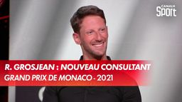 Romain Grosjean : un nouveau super consultant ! : Grand Prix de Monaco
