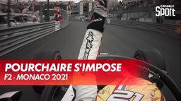 Le français Théo Pourchaire s'impose en F2 ! : Grand Prix de Monaco