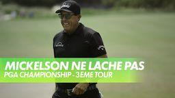 Magnifique sortie de bunker de Phil Mickelson : PGA Championship 2021 - Kiawah Island