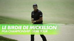 Le birdie de Phil Mickelson au trou n°6 : PGA Championship 2021 - Kiawah Island