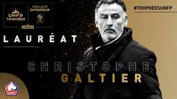 Christophe Galtier - Meilleur entraîneur de Ligue 1 Uber Eats - Trophées UNFP 2021